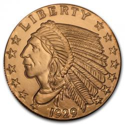 5 Oz Copper Rounds