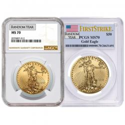 Certified Gold Eagles