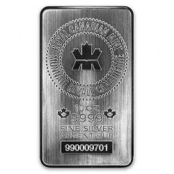 Royal Canadian Mint (RCM) Silver Bars