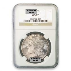 NGC Morgan Silver Dollars