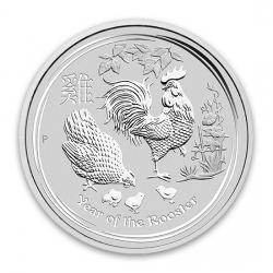 2017 Lunar Year of the Rooster Coins