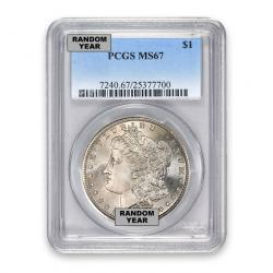 Certified Morgan Dollars