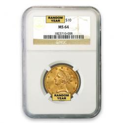 NGC $10 Liberty Eagles