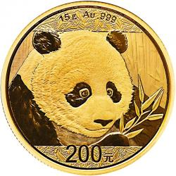 Random Date Chinese Gold Pandas