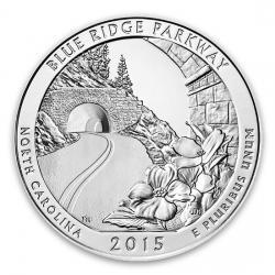 2015 5 Oz Silver ATB Coins