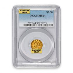 PCGS $2.50 Liberty Quarter Eagles