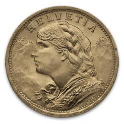 Gold Coins of Switzerland