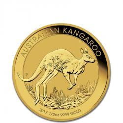 1/2 oz Australian Gold Kangaroo Coins