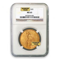 NGC $20 Saint Gaudens