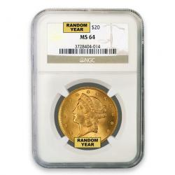 NGC $20 Liberty Double Eagles