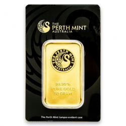 50 Gram Gold Bars