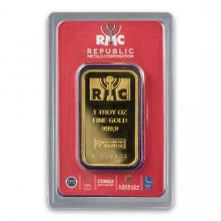 Republic Metals (RMC) Gold Bars