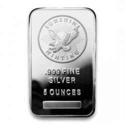 Sunshine Minting (SMI) Silver Bars