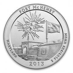 2013 5 Oz Silver ATB Coins