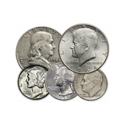 90% Silver $1 Face Value - By Type