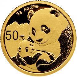 2019 Chinese Gold Pandas