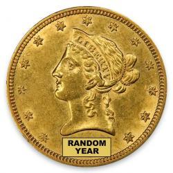 Uncertified $10 Liberty Eagles