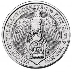 2 Oz Silver Queen's Beasts Coins