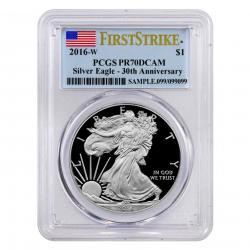 Graded Proof Silver Eagles