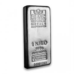 Republic Metals (RMC) Silver Bars
