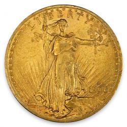 $20 Saint Gaudens Double Eagles
