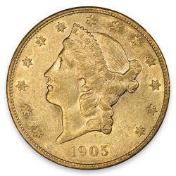 $20 Liberty Double Eagles