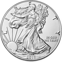 2018 American Silver Eagles (ASE)