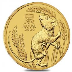 2020 Lunar Year of the Mouse Gold Coins