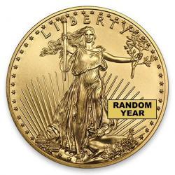 American Gold Eagles (Random Year)