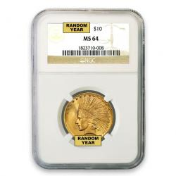NGC $10 Indian Eagles