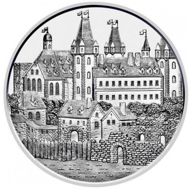2019 Austria 1 oz Silver Wiener Neustadt (BU) - 825th Anniversary