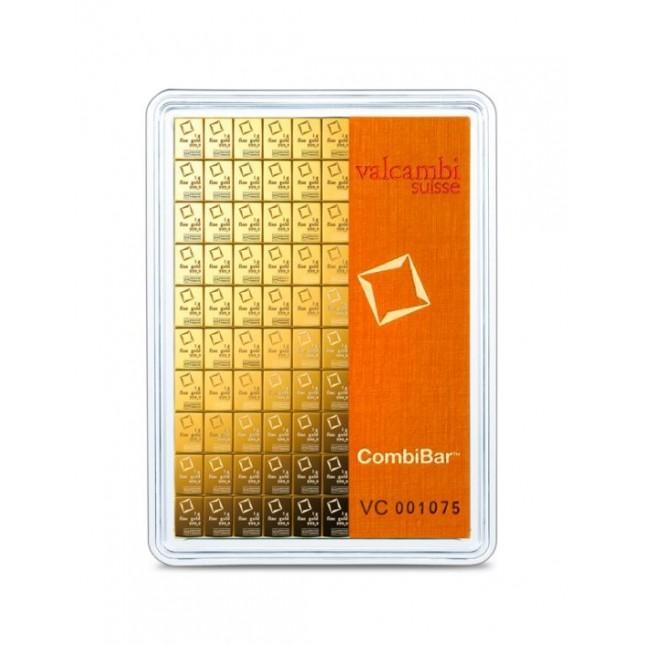 100 Gram Gold Valcambi Divisble CombiBar