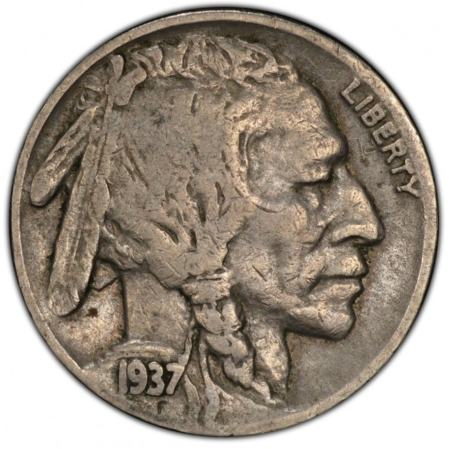 """Full Date"" Buffalo Nickel Average Circulated (1913-1938)"