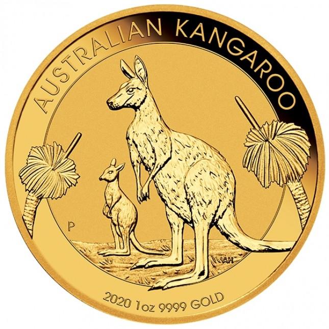 2020 1 Oz Australia Gold Kangaroo (BU)