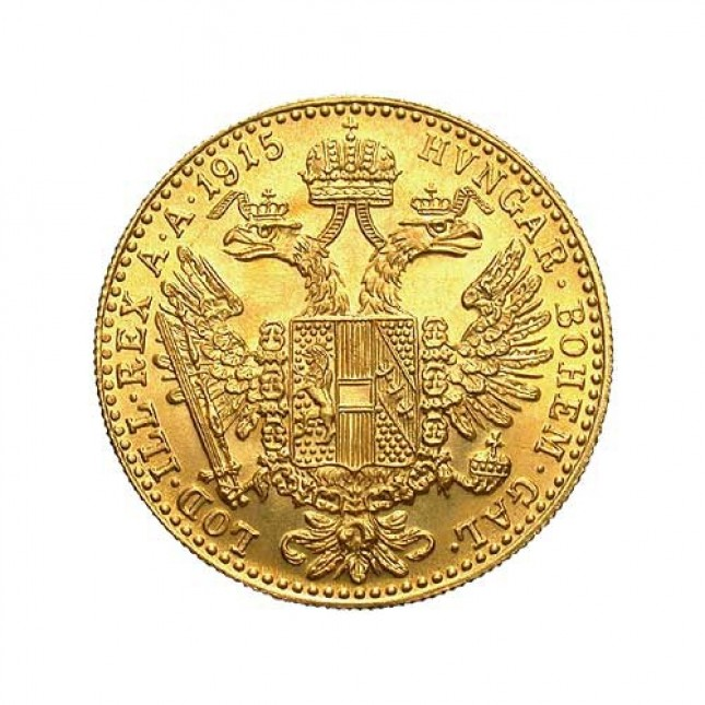 Austria Gold 1 Ducat (Random Year)