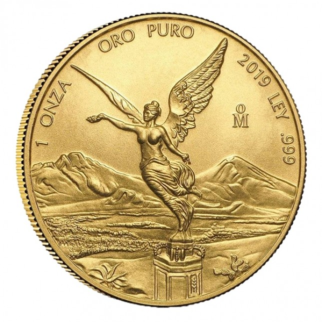 2019 1 Oz Mexican Gold Libertad (BU)