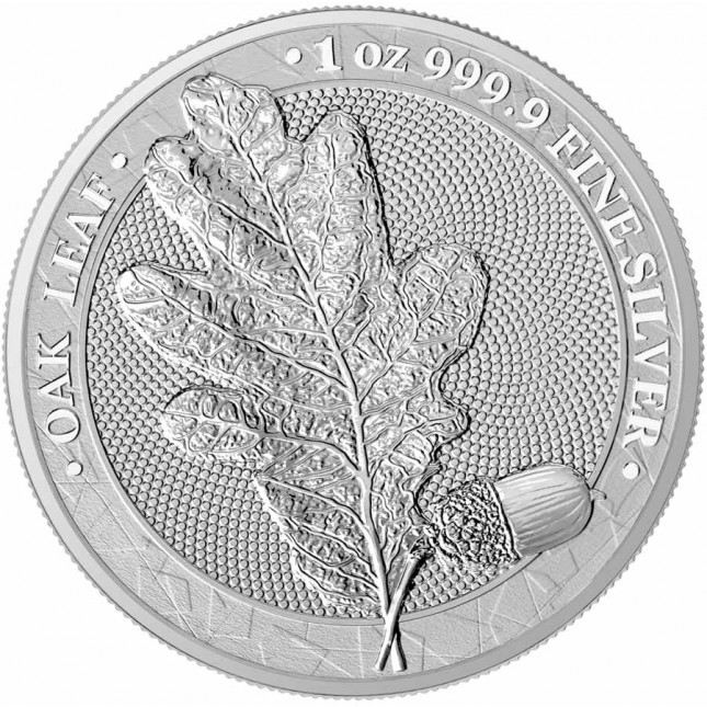 1 oz Silver Round | The Oak Leaf 2019 (BU)