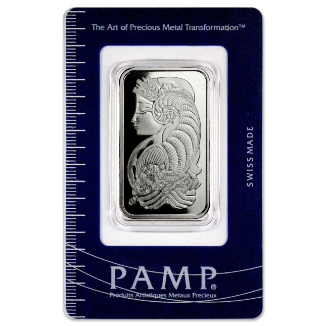 1 oz PAMP Suisse Palladium Bar (In Assay)