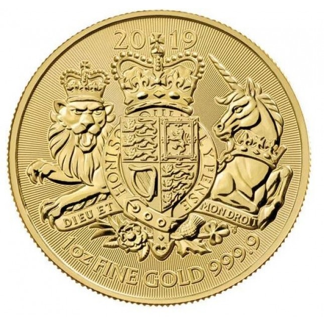 2019 Great Britain Gold 1 oz The Royal Arms (BU)