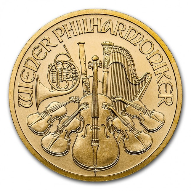 Austria 1/2 Oz Gold Philharmonic (BU) Dates of Our Choice