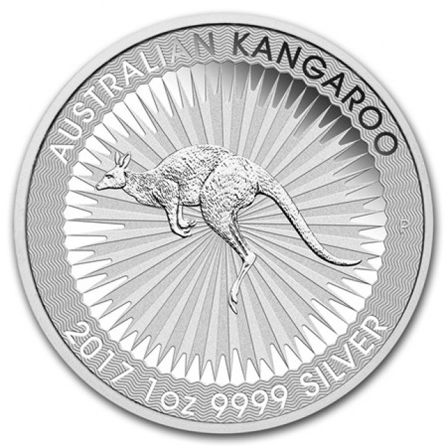 1 Oz Australia Silver Kangaroo (BU) Dates of Our Choice