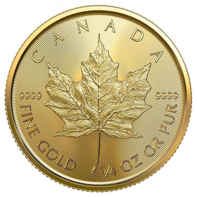 2019 Canada 1/4 Oz Gold Maple Leaf (BU)