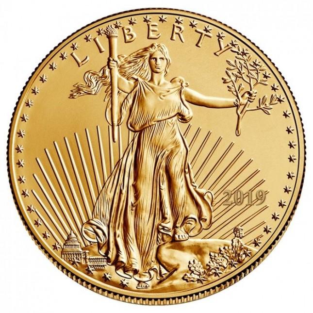 2019 1 Oz American Gold Eagle (BU)
