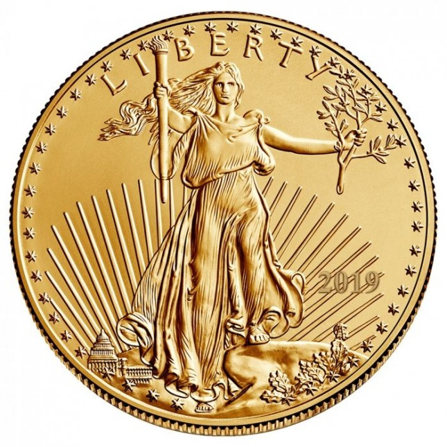 2019 1/2 Oz American Gold Eagle (BU)