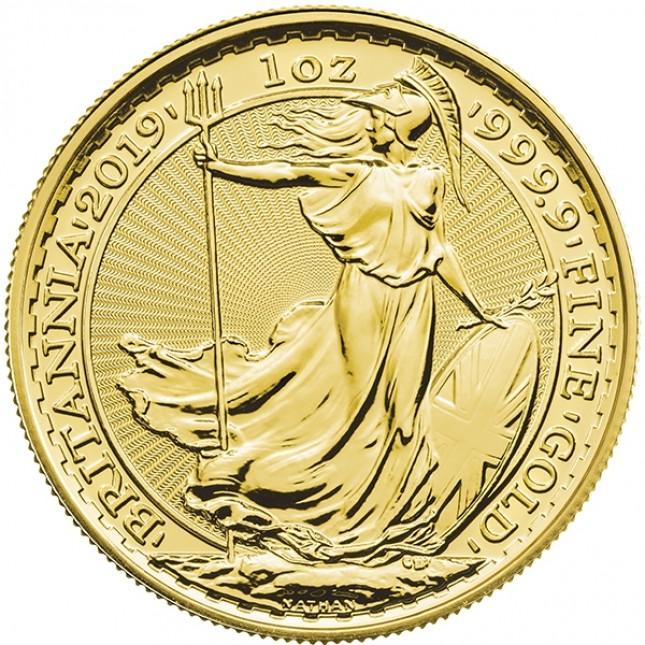 2019 Great Britain 1 Oz Gold Britannia (BU)