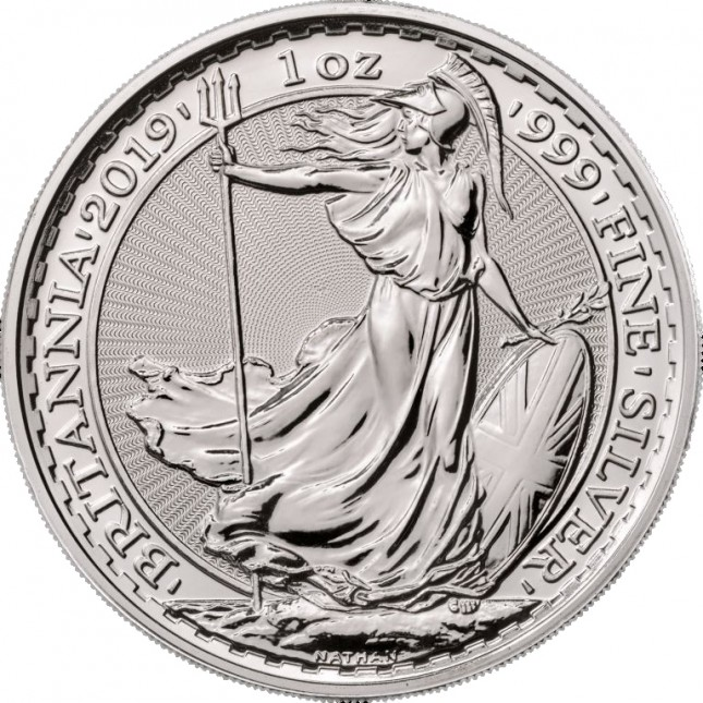 2019 Great Britain 1 Oz Silver Britannia (BU)