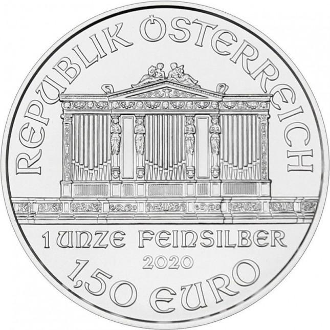 2020 Austria 1 Oz Silver Philharmonic (BU)