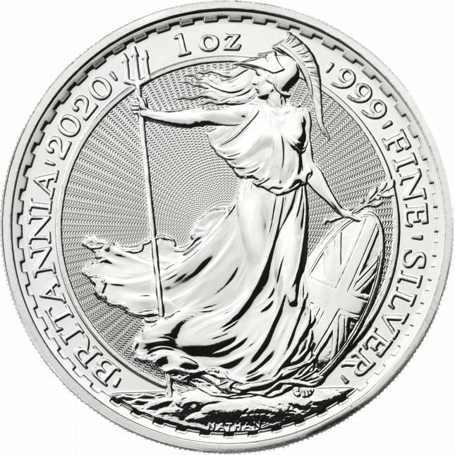 2020 Great Britain 1 Oz Silver Britannia (BU)