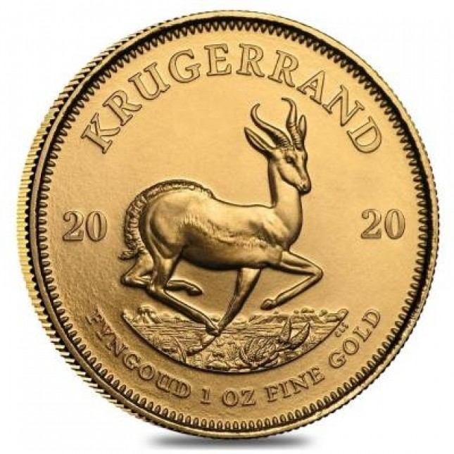 2020 1 Oz South Africa Gold Krugerrand BU