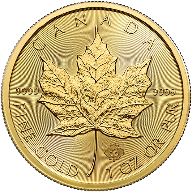 2020 Canada 1 Oz Gold Maple Leaf (BU)
